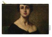 Harlamoff, Alexei 1840-1925 Female Portrait Carry-all Pouch