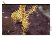 Harlequin Ghost Pipefish - Solenostomus Paradoxus Carry-all Pouch