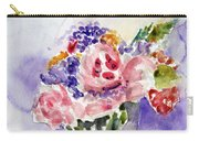 Harlequin Or Bright Side Of Life Carry-all Pouch