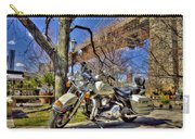 Harley Davidson And Brooklyn Bridge Carry-all Pouch