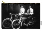 William Harley And Arthur Davidson, 1914 -- The Founders Of Harley Davidson Motorcycles Carry-all Pouch