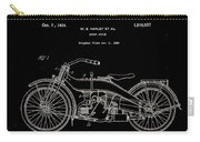 Harley Davidson Motor Cycle Patent 1924 Carry-all Pouch