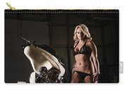 Harley Davidson Motorcycle Bikini  Carry-all Pouch