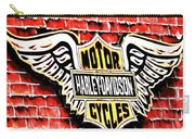 Harley Davidson Wings Carry-all Pouch