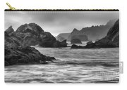 Harris Beach Oregon Monochrome Carry-all Pouch