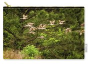 Harris Neck Ibis In Flight Carry-all Pouch
