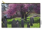 Harris Street Cemetery Cherry Blossom Tree Marblehead Ma 2 Carry-all Pouch