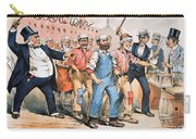 Harrison Cartoon, 1888 Carry-all Pouch