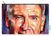 Harrison Ford Indiana Jones Portrait 2 Carry-all Pouch