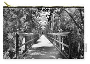 Harry Easterling Bridge Peak Sc Black And White Carry-all Pouch