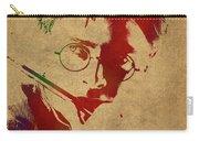 Harry Potter Watercolor Portrait Carry-all Pouch