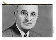 Harry Truman - 33rd President Of The United States Carry-all Pouch