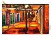 Harrys Corner New Orleans Carry-all Pouch by Diane Millsap