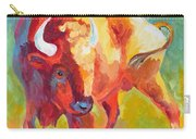 Hartsel Bison In Springtime Carry-all Pouch