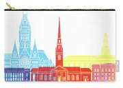 Harvard Ma Skyline Pop Carry-all Pouch