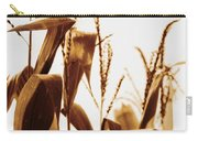 Harvest Corn Stalks - Gold Carry-all Pouch