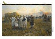 Harvest Festival By Alfred Wierusz-kowalski 1849-1915 Carry-all Pouch