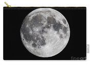 Harvest Moon At 99 Pct. Waxing Gibbous Carry-all Pouch