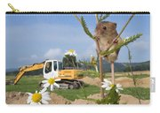 Harvest Mouse And Backhoe Carry-all Pouch