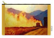 Harvest Time In Wyoming Carry-all Pouch