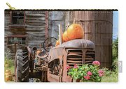 Harvest Time Vintage Farm With Pumpkins Carry-all Pouch