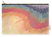 Harvest Wind- Abstract Art By Linda Woods Carry-all Pouch