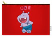 Harvey Hippo Go For It Lt Carry-all Pouch