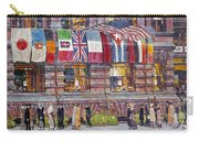Hassam: Allied Flags, 1917 Carry-all Pouch by Granger