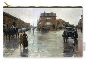 Hassam: Rainy Boston, 1885 Carry-all Pouch