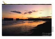 Hastings Harbour Arm At Sunset Carry-all Pouch