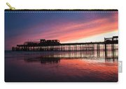 Hastings Pier - Purple Carry-all Pouch