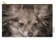 Hattie--foxy Chihuahua Carry-all Pouch