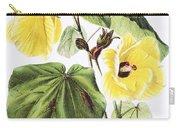 Hau Flower Art Carry-all Pouch