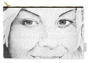 Hauna In Her Own Words Carry-all Pouch