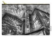 Haunted Church In Black And White Carry-all Pouch
