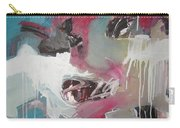 Haunted Voice-blue Red Painting Carry-all Pouch