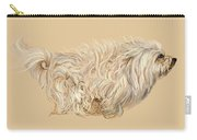 Havanese. 11x16 Carry-all Pouch