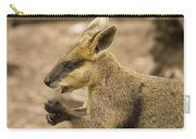 Having A Snack Carry-all Pouch by Mike  Dawson