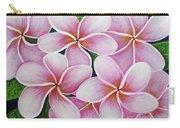 Hawaii An Tropical Plumeria Flower #338 Carry-all Pouch