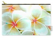 Hawaii Plumeria Frangipani Flowers #86 Carry-all Pouch