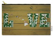 Hawaii State Love License Plate Art Phrase Carry-all Pouch
