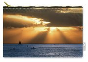 Hawaii Sunset Panorama Carry-all Pouch