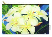 Hawaii Tropical Plumeria #158 Carry-all Pouch