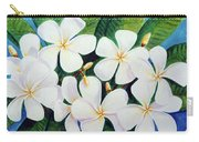 Hawaii Tropical Plumeria Flower  # 220 Carry-all Pouch