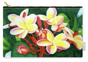 Hawaii Tropical Plumeria Flower #205 Carry-all Pouch