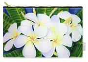 Hawaii Tropical Plumeria Flower  #208 Carry-all Pouch
