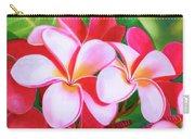 Hawaii Tropical Plumeria Flower #212 Carry-all Pouch