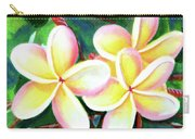 Hawaii Tropical Plumeria Flower #213 Carry-all Pouch