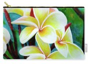 Hawaii Tropical Plumeria Flower #225 Carry-all Pouch
