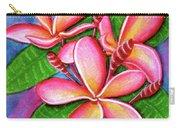Hawaii Tropical Plumeria Flower #243 Carry-all Pouch